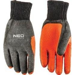 Γάντια Βαμβακερά  με polyester και αντιολισθητικό latex 97-607 10''
